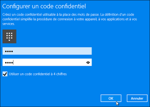 Windows 10 code PIN